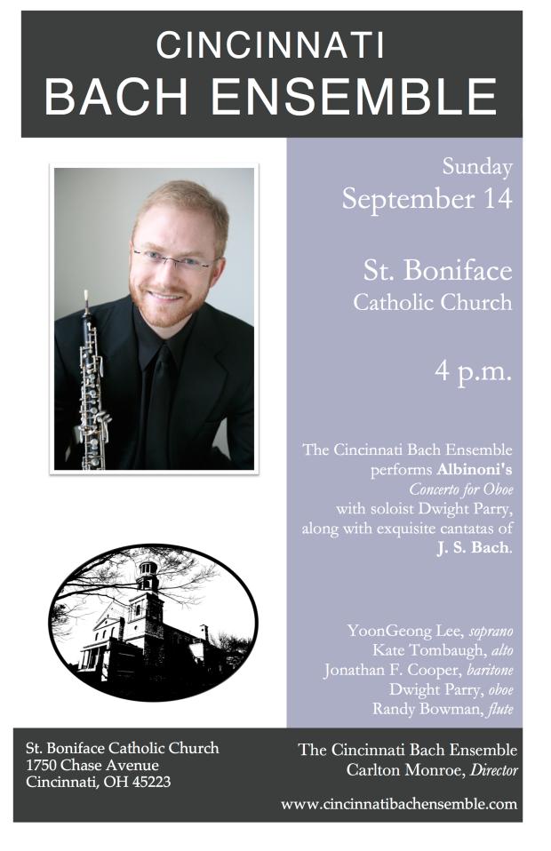 September 2014 Bach Poster