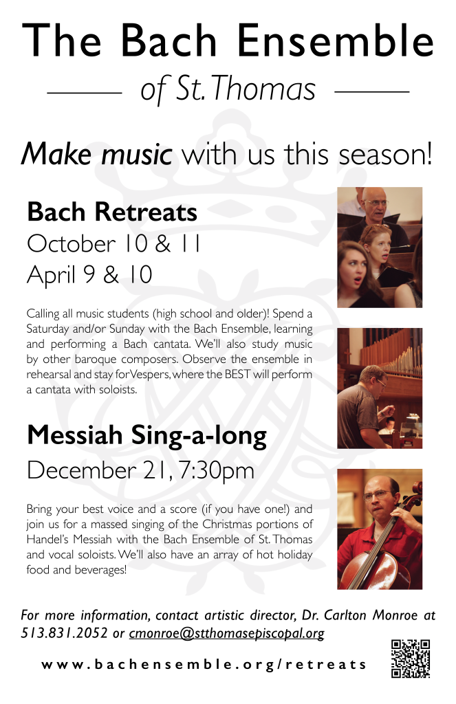 Bach Outreach Poster