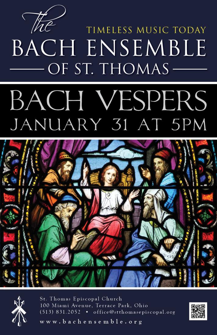 Bach Vespers Jan 31