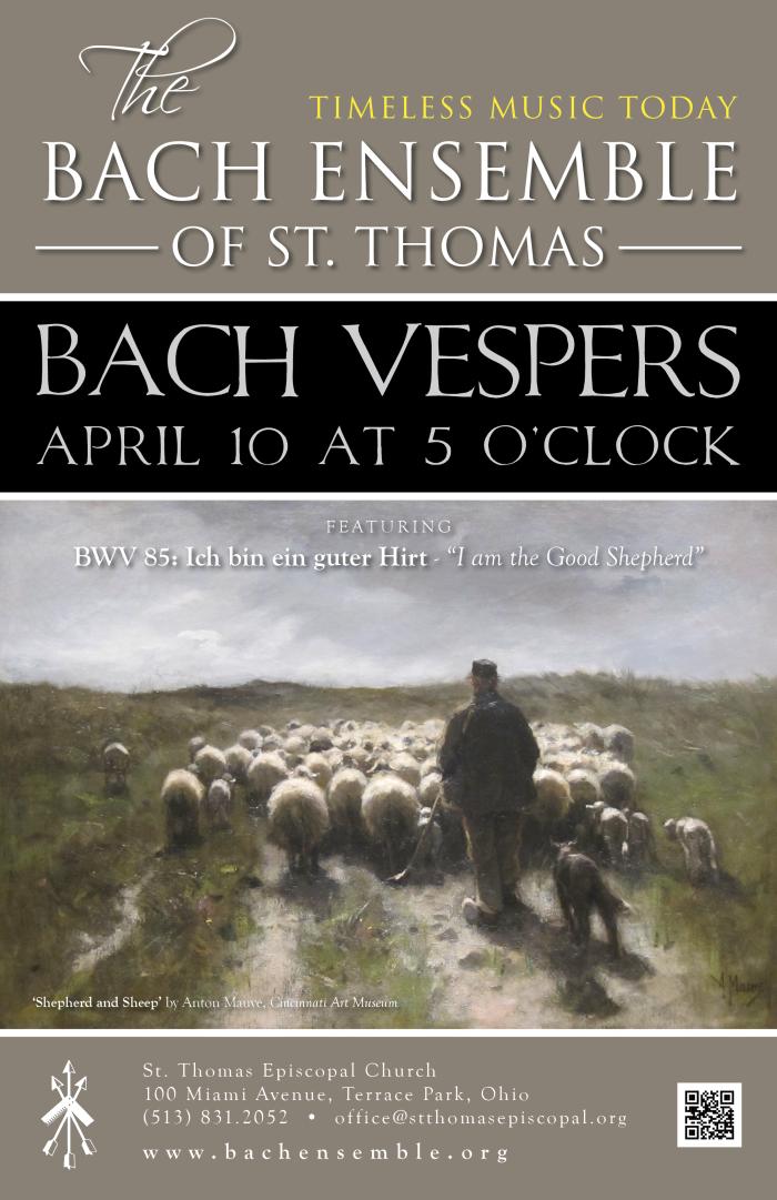 Bach Vespers April 2016