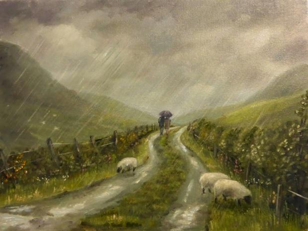 deborah-okeeffe-a-walk-in-the-rain